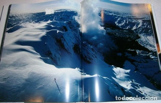 Libros de segunda mano: Los volcanes y los hombres por Bourseiller y Durieux de Ed. Lunwerg en Barcelona 2001 - Foto 3 - 142495070