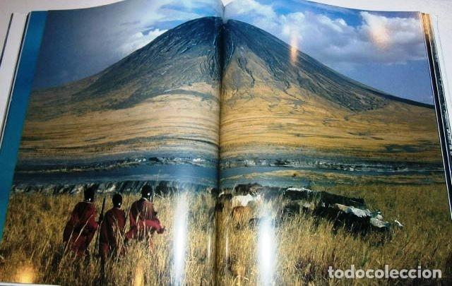 Libros de segunda mano: Los volcanes y los hombres por Bourseiller y Durieux de Ed. Lunwerg en Barcelona 2001 - Foto 4 - 142495070