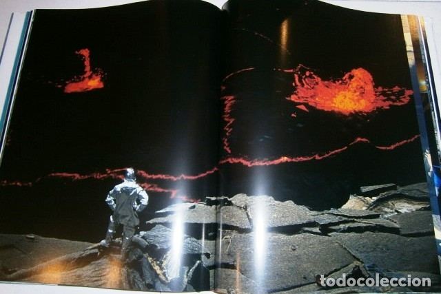 Libros de segunda mano: Los volcanes y los hombres por Bourseiller y Durieux de Ed. Lunwerg en Barcelona 2001 - Foto 5 - 142495070