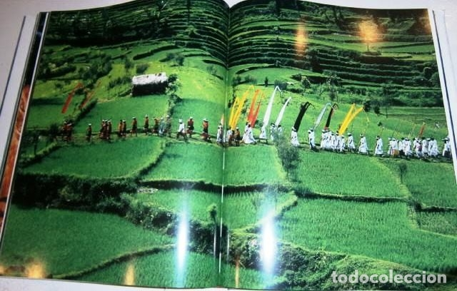 Libros de segunda mano: Los volcanes y los hombres por Bourseiller y Durieux de Ed. Lunwerg en Barcelona 2001 - Foto 6 - 142495070