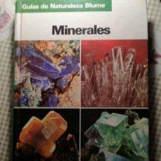 Libros de segunda mano: MINERALES. GUÍAS DE NATURALEZA BLUME.. Lote 142455016