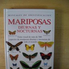 Libros de segunda mano: GUIA IDENTIFICACION MARIPOSAS DIURNAS Y NOCTURNAS - CARTER - EDITORIAL OMEGA 1993. Lote 142597422