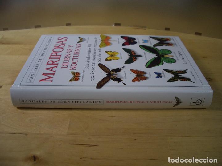 Libros de segunda mano: GUIA IDENTIFICACION MARIPOSAS DIURNAS Y NOCTURNAS - CARTER - EDITORIAL OMEGA 1993 - Foto 3 - 142597422