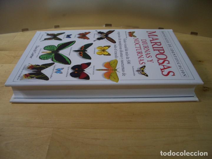 Libros de segunda mano: GUIA IDENTIFICACION MARIPOSAS DIURNAS Y NOCTURNAS - CARTER - EDITORIAL OMEGA 1993 - Foto 4 - 142597422