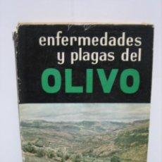 Libros de segunda mano: ENFERMEDADES Y PLAGAS DEL OLIVO. Lote 142812418