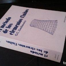 Libros de segunda mano de Ciencias: 1982 - ZIENKIEWICZ - EL MÉTODO DE LOS ELEMENTOS FINITOS. Lote 143064358