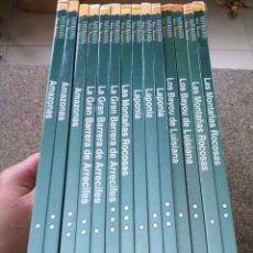 Libros de segunda mano: ZONAS SALVAJES DEL MUNDO - NATURALEZA Y VIDA ANIMAL -- 14 TOMOS -- EDICIONES FOLIO 1996 -- . Lote 143415022