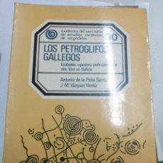 Libros de segunda mano: PEÑA SANTOS, ANTONIO DE LA Y VÁZQUEZ VARELA, J M: LOS PETROGLIFOS GALLEGOS GRABADOS RUPESTRES PREHIS. Lote 143672782