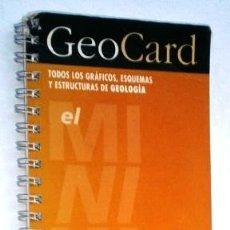 Libros de segunda mano: GEOCARD / SÍNTESIS DE GEOLOGÍA DE EDITORIAL CASTELLNOU EN BARCELONA 1995. Lote 143757386