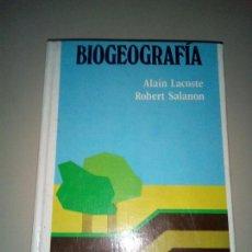 Libros de segunda mano: BIOGOGRAFIA - ALAIN LACOSTE ROBERT SALANON. Lote 143769750