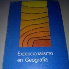 Libros de segunda mano: EXCEPCIONALISMO EN GEOGRAFIA - FRED K . SCHAEFER. Lote 143770046