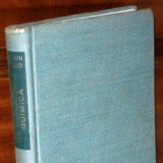 Libros de segunda mano de Ciencias: PROBLEMAS DE INGENIERÍA QUÍMICA 1 (OPERACIONES BÁSICAS) POR OCÓN Y TOJO DE AGUILAR EN MADRID 1963. Lote 142247389