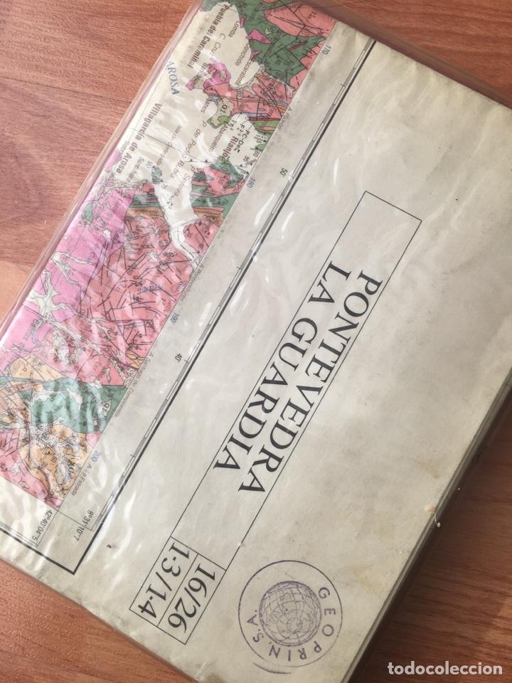 Libros de segunda mano: Mapa geológico de España. Pontevedra la guardia. IGME. - Foto 3 - 143880773