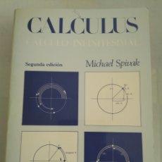 Libros de segunda mano de Ciencias: CALCULUS CALCULO INFINITESIMAL/MICHAEL SPIVAK. Lote 143940237
