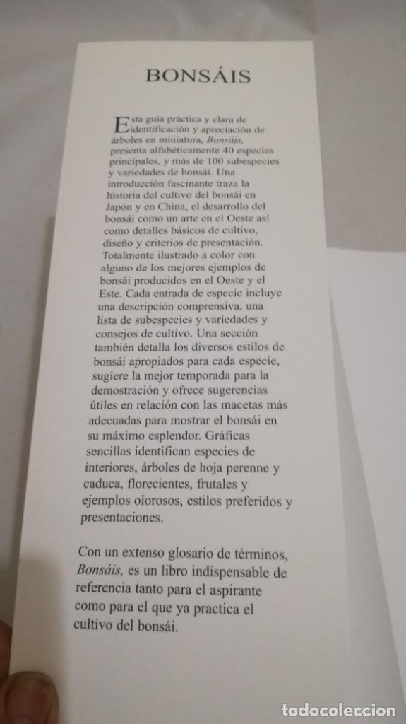 Libros de segunda mano: BONSAIS / GORDON OWEN / EDILUPA - Foto 5 - 194249078