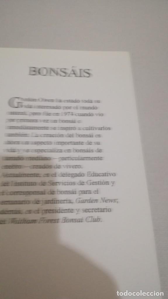 Libros de segunda mano: BONSAIS / GORDON OWEN / EDILUPA - Foto 8 - 194249078