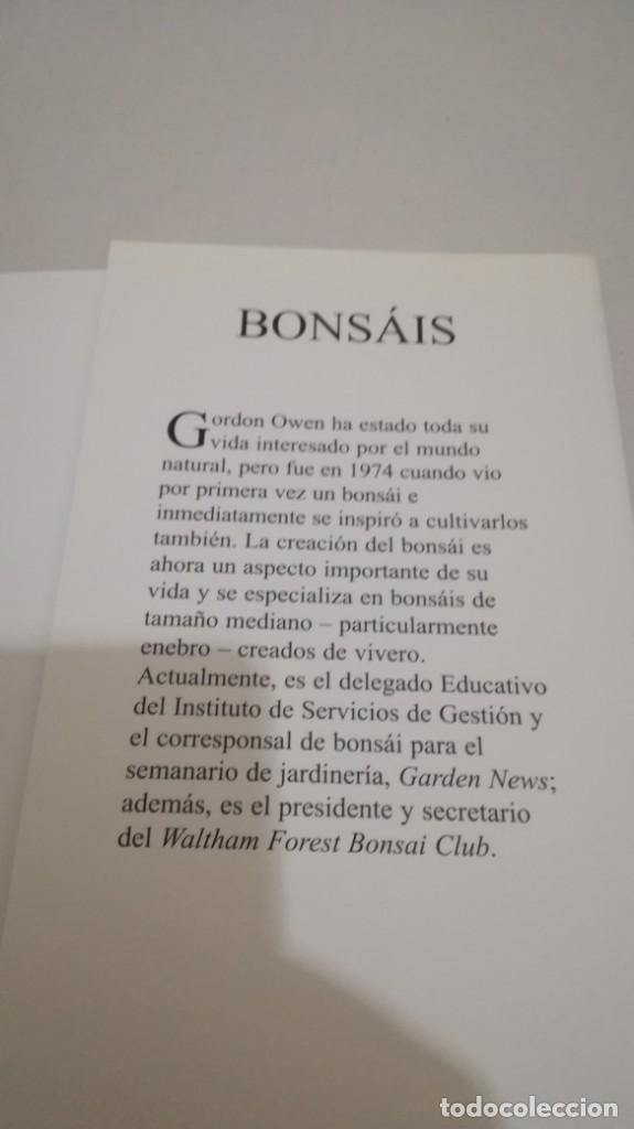 Libros de segunda mano: BONSAIS / GORDON OWEN / EDILUPA - Foto 9 - 194249078