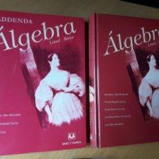 Libros de segunda mano de Ciencias: ÁLGEBRA LINEAL BÁSICA. SANZ Y TORRES .DOS LIBROS. Lote 144102944
