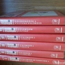 Libros de segunda mano de Ciencias: MATEMÁTICAS PROGRESIVAS. DIDÁCTICO PROGRESIVAS. SEIS TOMOS / DISTRIBUIDORA EDITORIAL GT, 1992. Lote 144317018