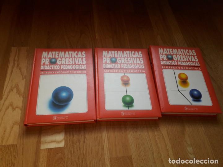 Libros de segunda mano de Ciencias: MATEMÁTICAS PROGRESIVAS. DIDÁCTICO PROGRESIVAS. SEIS TOMOS / DISTRIBUIDORA EDITORIAL GT, 1992 - Foto 3 - 144317018