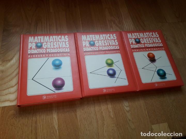 Libros de segunda mano de Ciencias: MATEMÁTICAS PROGRESIVAS. DIDÁCTICO PROGRESIVAS. SEIS TOMOS / DISTRIBUIDORA EDITORIAL GT, 1992 - Foto 4 - 144317018