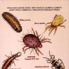 Libros de segunda mano: LLORENS CLIMENT Y OTROS: ÁCAROS DE LAS PLANTAS CULTIVADAS Y SU CONTROL BIOLÓGICO (PISA, 1991). Lote 160197872