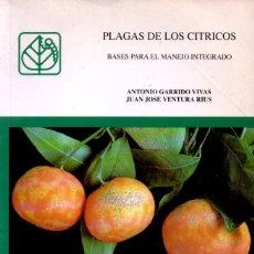 Libros de segunda mano: GARRIDO VIVAS / VENTURA RIUS: PLAGAS DE LOS CITRICOS (MINISTERIO AGRICULTURA, 1993). Lote 144358502