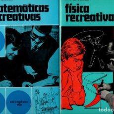 Libros de segunda mano de Ciencias: PERELMAN : MATEMÁTICAS Y FÍSICA RECREATIVAS - DOS TOMOS (MARTÍNEZ ROCA, 1971). Lote 144579110