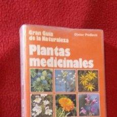 Libros de segunda mano - PLANTAS MEDICINALES - DIETER PODLECH - GRAN GUIA DE LA NATURALEZA - ED. CIRCULO DE LECTORES - 144622634