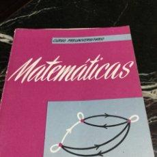 Libros de segunda mano de Ciencias: MATEMATICAS. Lote 158670225