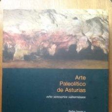 Libros de segunda mano: ARTE PALEOLITICO DE ASTURIAS, OCHO SANTUARIOS SUBTERRANEOS, PEDRO SAURA, MATILDE MUZQUIZ, CAJASTUR. Lote 144732838