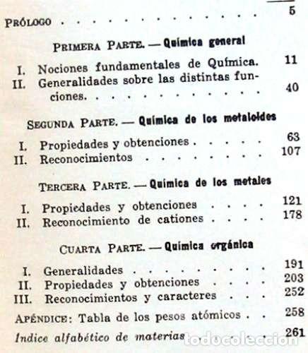 Libros de segunda mano de Ciencias: VADEMECUM DEL QUÍMICO - IGNACIO PUIG - VER INDICE - Foto 2 - 144759174