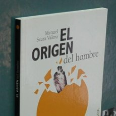 Libros de segunda mano: LMV - EL ORIGEN DEL HOMBRE. MANUEL SEARA VALERO. Lote 144929534