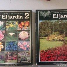 Libros de segunda mano: EL JARDÍN 1 Y 2. Lote 145069517