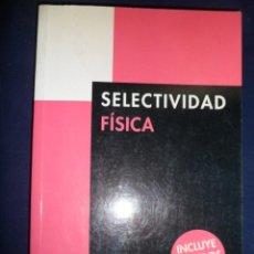 Livros em segunda mão: FÍSICA. SELECTIVIDAD. ANAYA. M.L. GARCÍA ALVAREZ; M.P. PLATERO MUÑOZ. Lote 145107166