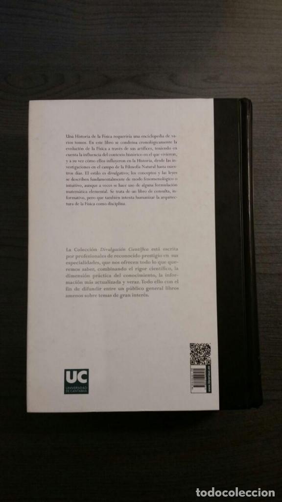 Libros de segunda mano de Ciencias: BREVE HISTORIA DE LA FISICA: SUS ARTIFICES - Foto 2 - 145293770