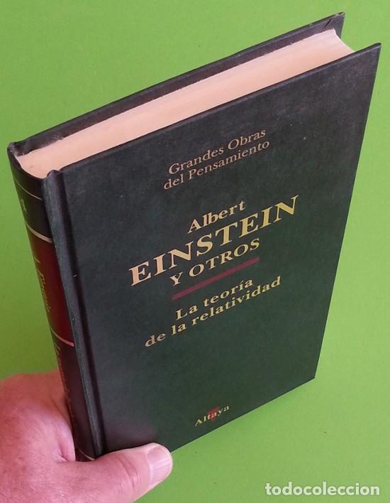 Libros de segunda mano de Ciencias: La teoría de la relatividad - Albert Einstein - Foto 5 - 145370134