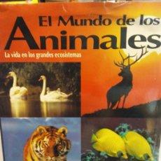 Libros de segunda mano: STQ.EL MUNDO DE LOS ANIMALES.EDT, OCEANO.BRUMART TU LIBRERIA. Lote 145504786