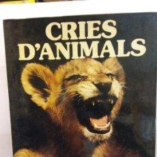 Libros de segunda mano: STQ.JANE BURTON.CRIES D ANIMALS.EDT, CASTELL.BRUMART TU LIBRERIA. Lote 145505054