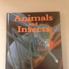 Libros de segunda mano: ANIMALS AND INSECTS. Lote 145650170