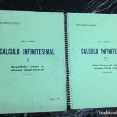 Libros de segunda mano de Ciencias: CÁLCULO INFINITESIMAL I Y II ; 1966. Lote 158670154