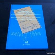 Libros de segunda mano de Ciencias: PROBLEMAS DE ANÁLISIS MATEMÁTICO. MARÍA BALLVÉ - MIGUEL DELGADO - PEDRO JIMÉNEZ... 2002. ED. SANZ.... Lote 145794242
