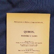 Libros de segunda mano: CORDERO DEL CAMPILLO: QUIRÓN, MAESTRO Y SABIO. Lote 145877394