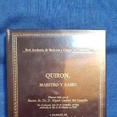Libros de segunda mano: CORDERO DEL CAMPILLO: QUIRÓN, MAESTRO Y SABIO. Lote 145877522