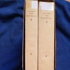 Libros de segunda mano: OBSERVACIONES HISTORIA NATURAL, GEOGRAFÍA. AGRICULTURA, POBLACIÓN Y FRUTOS DEL REYNO DE VALENCIA. Lote 145898982
