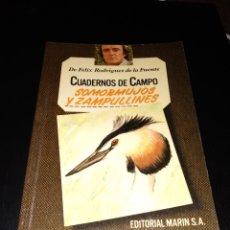 Libros de segunda mano: CUADERNOS DE CAMPO FELIX RODRIGUEZ DE LA FUENTE. Lote 146306162