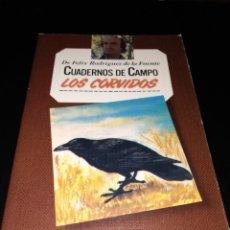 Libros de segunda mano: CUADERNOS DE CAMPO FELIX RODRIGUEZ DE LA FUENTE. Lote 146306409