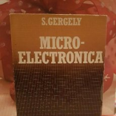 Libros de segunda mano de Ciencias: MICRO-ELECTRONICA. Lote 146307190