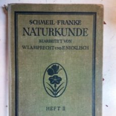Libri di seconda mano: STQ. HISTORIA NATURAL. 2. SCHMEIL FRANKE. EN ALEMAN. . . Lote 146396742