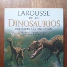 Livres d'occasion: LAROUSSE DE LOS DINOSAURIOS, DEL INICIO A LA EXTINCION, 2002. Lote 146544362